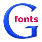 как подключить кириллические шрифты гугл