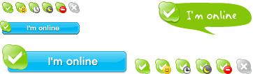 добавить кнопку скайп на сайт