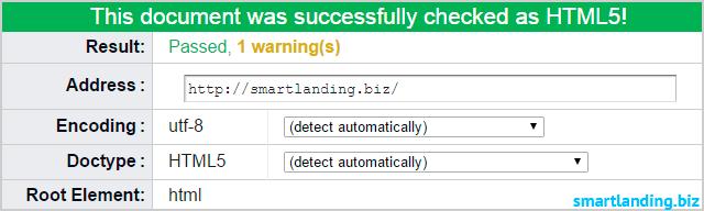 html валидатор