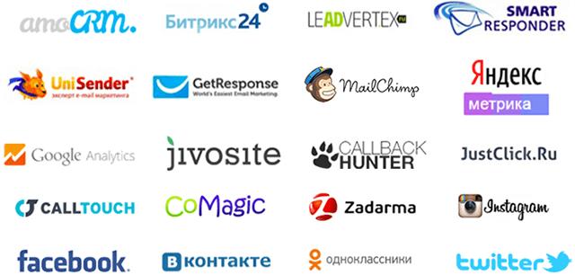 Онлайн конструкторы лендинг пейдж