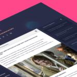 Дизайн контентного блога