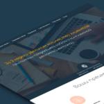 дизайн лендинга для вебстудии