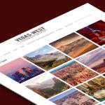 Сайт-визитка для организации туров по Америке